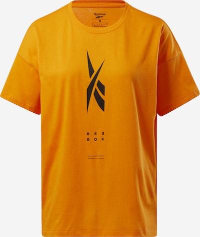 REEBOK Functioneel shirt in de kleur Sinaasappel, Productweergave