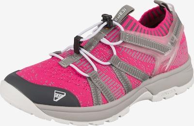 ICEPEAK Outdoorschuh in grau / pink, Produktansicht
