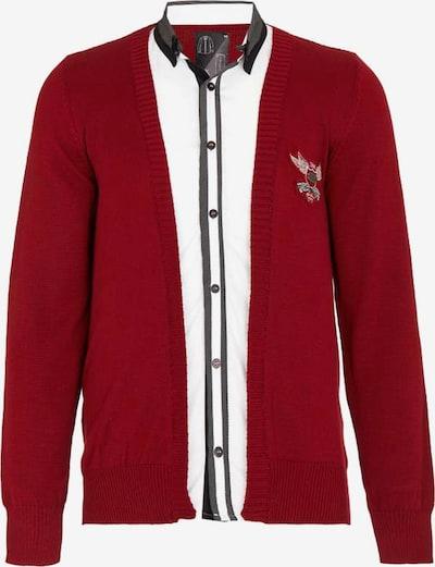 CIPO & BAXX Pullover in bordeaux, Produktansicht