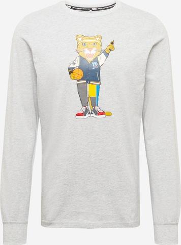 PUMA Λειτουργικό μπλουζάκι 'Dylan' σε γκρι