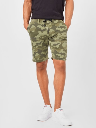 Pepe Jeans Kalhoty 'OWEN' - khaki / olivová / světle zelená, Model/ka