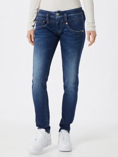 Herrlicher Jeans 'Pitch Slim Organic Denim' in blau, Modelansicht
