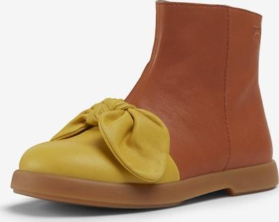 CAMPER Bottes 'Duet' en chamois / jaune, Vue avec produit