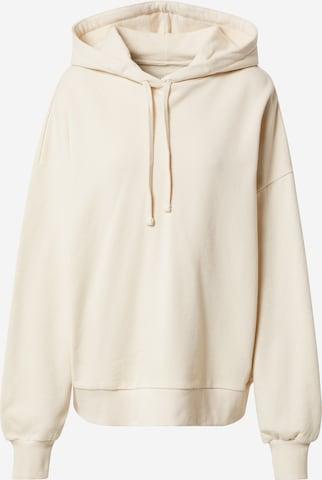 A LOT LESS Sweatshirt 'Marieke' in Beige