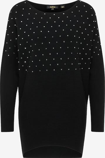 usha BLACK LABEL Sweter w kolorze czarnym, Podgląd produktu