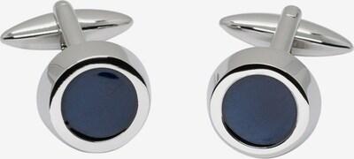 ETERNA Manschettenknöpfe in blau / silber, Produktansicht