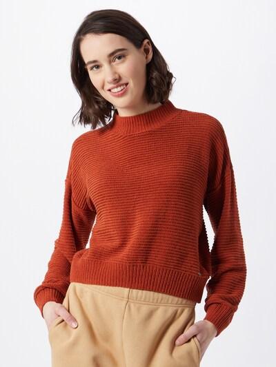 HOLLISTER Pullover 'CHENILLE M' in rostrot, Modelansicht