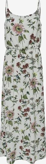 ONLY Robe d'été en vert gazon / rose ancienne / blanc, Vue avec produit