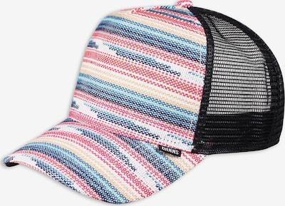DJINNS Cap in himmelblau / orange / pink / schwarz / weiß, Produktansicht