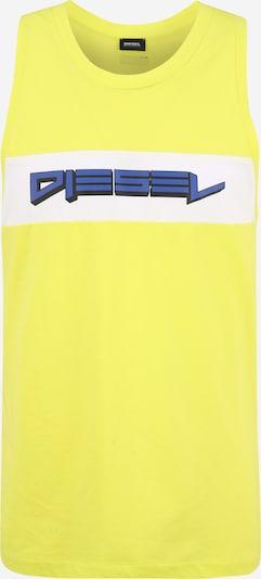 DIESEL Shirt in blau / gelb / weiß, Produktansicht