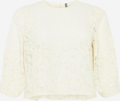 PIECES Curve Blouse 'GERTIE' in de kleur Crème, Productweergave