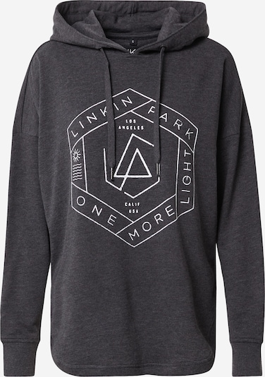Merchcode Sweat-shirt 'Linkin Park' en gris foncé, Vue avec produit