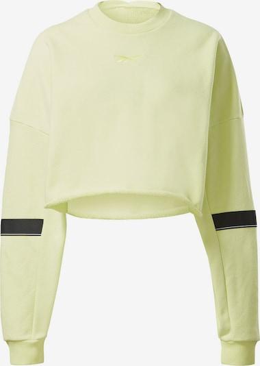 REEBOK Sportsweatshirt in zitrone, Produktansicht