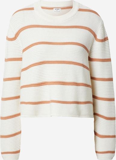 Cotton On Pullover in bronze / weiß, Produktansicht