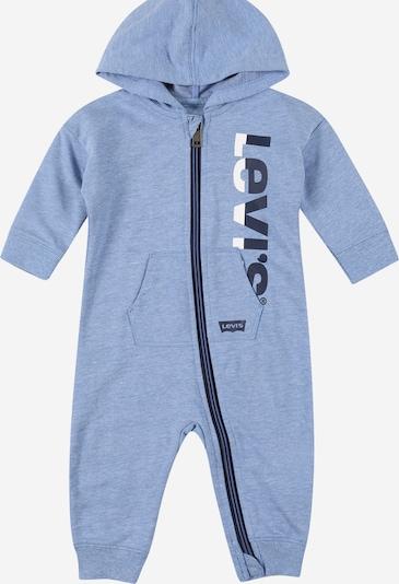LEVI'S Комбинезон в нейви синьо / синьо меланж / бяло, Преглед на продукта