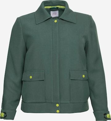 SHEEGO Välikausitakki värissä vihreä