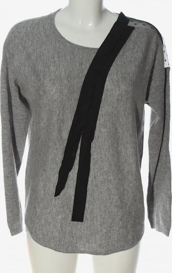 Maison 123 Wollpullover in L in hellgrau / schwarz, Produktansicht