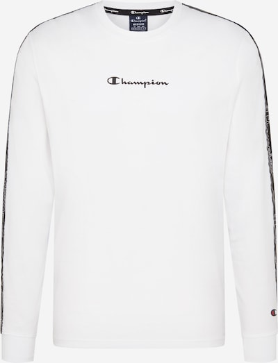Tricou Champion Authentic Athletic Apparel pe negru / alb, Vizualizare produs