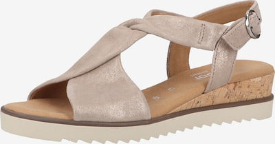 GABOR Sandalen in beige / nude, Produktansicht