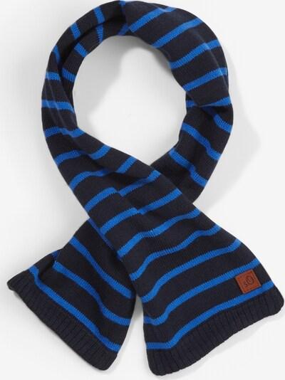 s.Oliver Strickschal mit Streifen in dunkelblau, Produktansicht