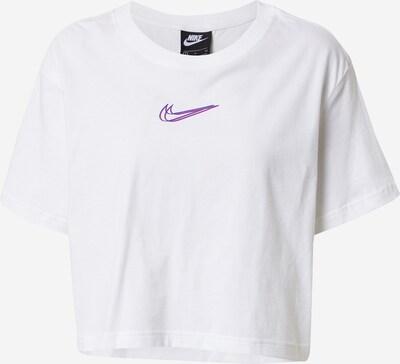 Nike Sportswear Shirt in blau / pink / weiß, Produktansicht