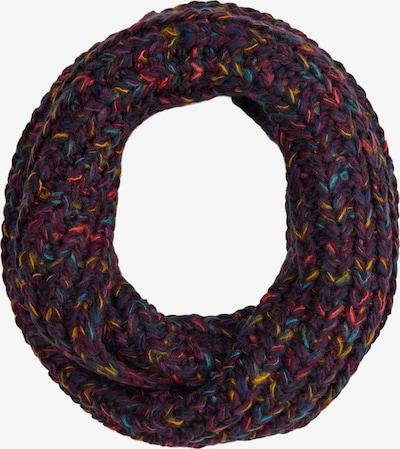 s.Oliver Sjaal in de kleur Donkerblauw / Donkerlila / Donkerroze / Bordeaux, Productweergave