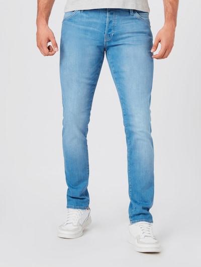 JACK & JONES Jeans 'GLENN' i blue denim, Modelvisning