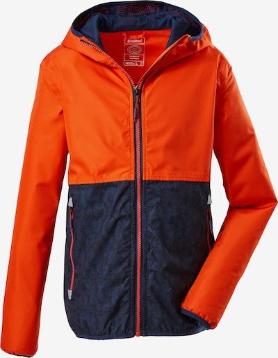 Laisvalaikio striukė 'Lyse' iš KILLTEC , spalva - tamsiai mėlyna / oranžinė, Prekių apžvalga