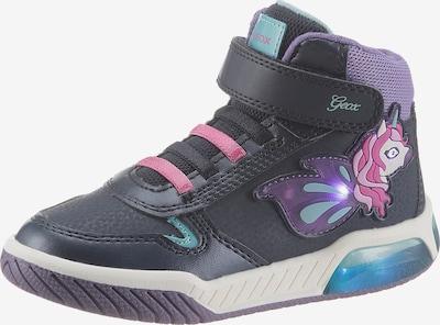 GEOX Kids Sneaker in dunkelblau / mischfarben, Produktansicht