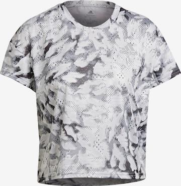 ADIDAS PERFORMANCE Funksjonsskjorte i grå