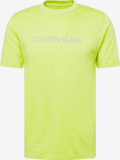 Tricou funcțional Calvin Klein Performance pe galben neon / gri, Vizualizare produs