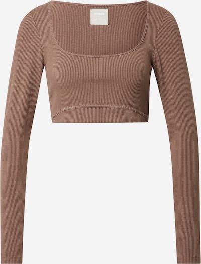 ABOUT YOU x Sofia Tsakiridou Shirt 'Jenna' in braun, Produktansicht