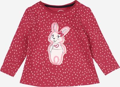 s.Oliver Shirt in rosa / cranberry / schwarz / weiß, Produktansicht