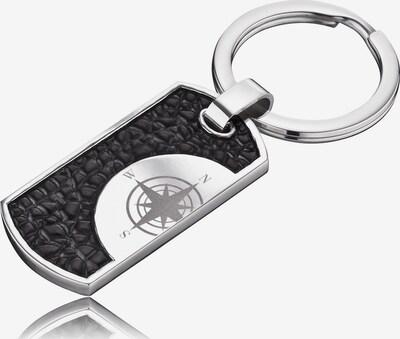 SAVE BRAVE Schlüsselanhänger 'Havanna' in schwarz / silber, Produktansicht