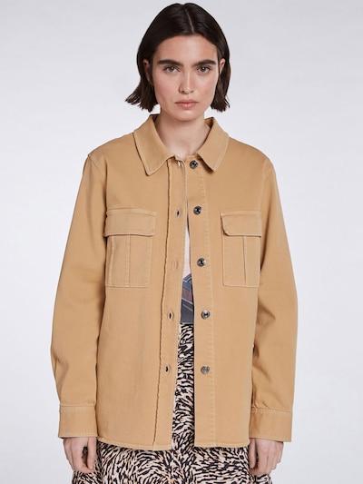 SET Bluse in hellbraun, Modelansicht