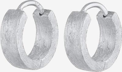 KUZZOI Oorbel in de kleur Zilver, Productweergave