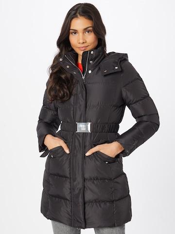 juoda BOSS Casual Žieminis paltas 'Patantan2'