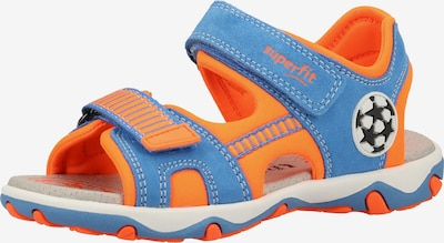 SUPERFIT Sandale in blau / orange, Produktansicht