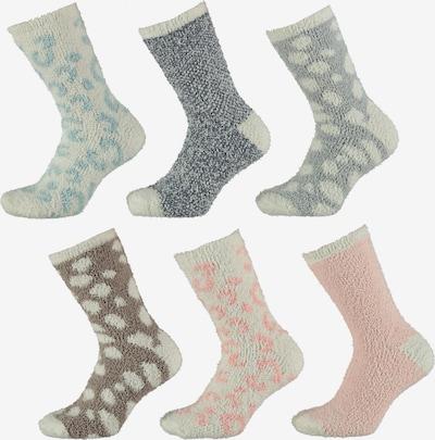 Apollo Socken in mischfarben / weiß, Produktansicht