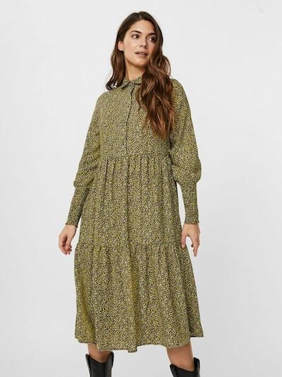 VERO MODA Kleid in oliv / mischfarben, Modelansicht