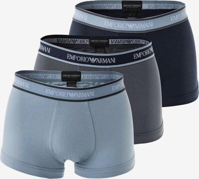 Emporio Armani Boxershorts in de kleur Navy / Grafiet / Zilvergrijs, Productweergave