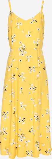 GAP Kleid in gelb / schwarz / weiß, Produktansicht