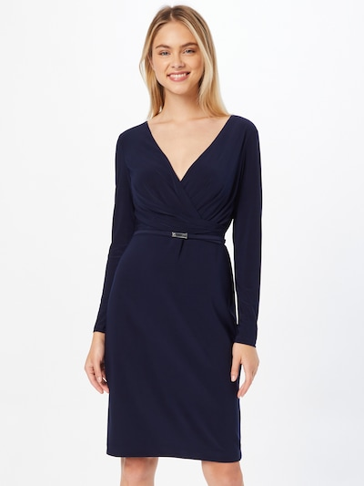 Lauren Ralph Lauren Cocktail Dress 'ALEXIE' in Navy, View model