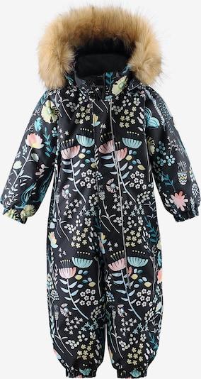 Reima Schneeanzug 'Lappi' in mischfarben / schwarz, Produktansicht