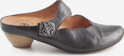 THINK! Absatz Pantoletten in 37 in schwarz / silber, Produktansicht