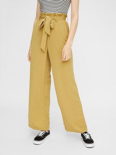 PIECES Hose in gelb, Modelansicht