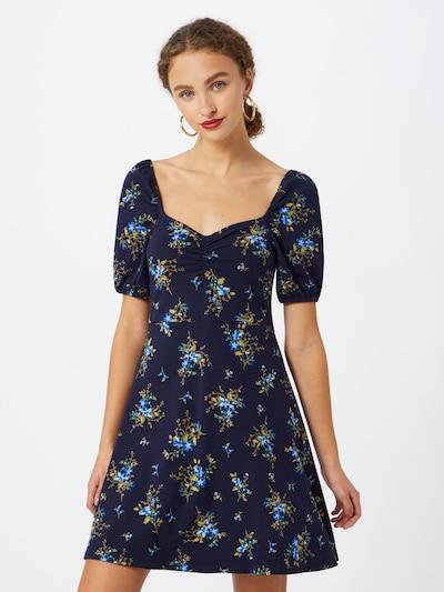 Dorothy Perkins Letní šaty - modrá / nebeská modř / zelená / bílá, Model/ka