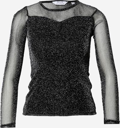Dorothy Perkins (Petite) Shirt in de kleur Zwart, Productweergave