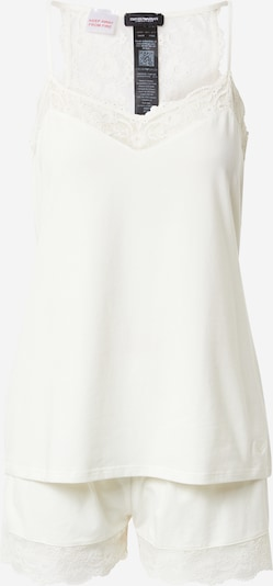 Emporio Armani Korte pyjama in de kleur Crème, Productweergave