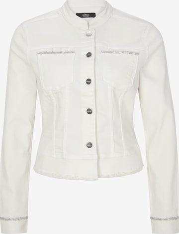 s.Oliver BLACK LABEL Between-Season Jacket in White